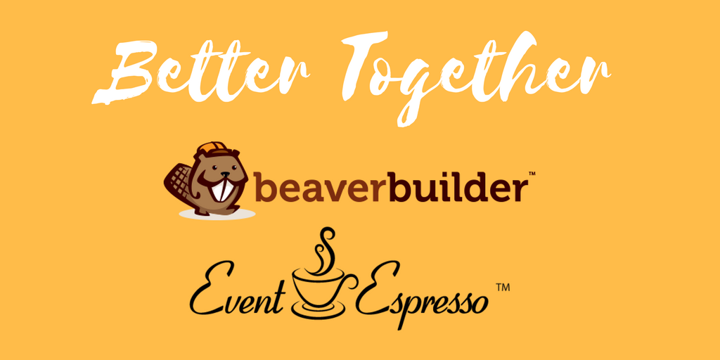 Beaver Builder & Event Espresso Better Together